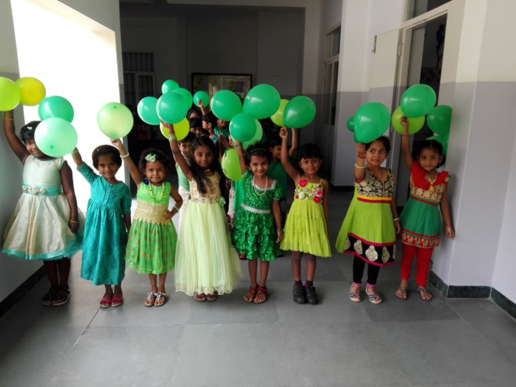 Green Day Celebration Reeds World School